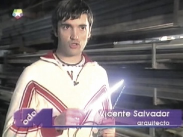 Vicente Salvador @ TeleMadrid (Todo Madrid), Feb. 2003